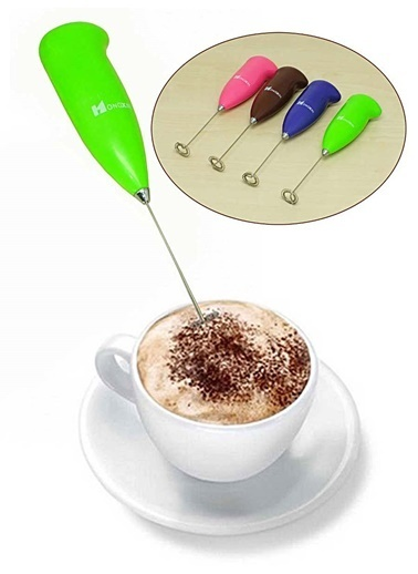 Kitchen Love Kahve&Süt Köpürtücü, Pilli Karıştırıcı-21Cm Renkli